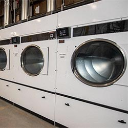small business sustainability success, commercial laundry