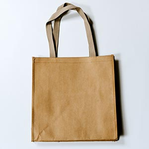 use tote bags to reduce plastic pollution