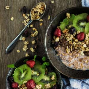 whole grains, fresh fruit