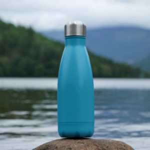 sustainability examples, use reusable, metal bottle